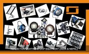 Lighting Equipment Delhi (India) & Nepal Rental Service